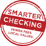 Smarter checking seal, fewer fess. local values.