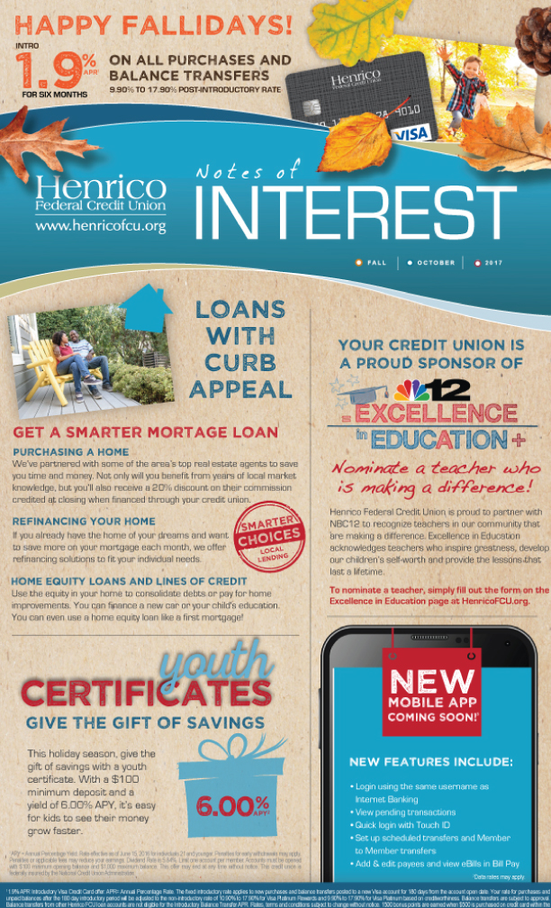 Henrico Newsletter - Fall 2017