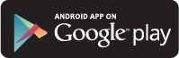 Andriod app on google play button