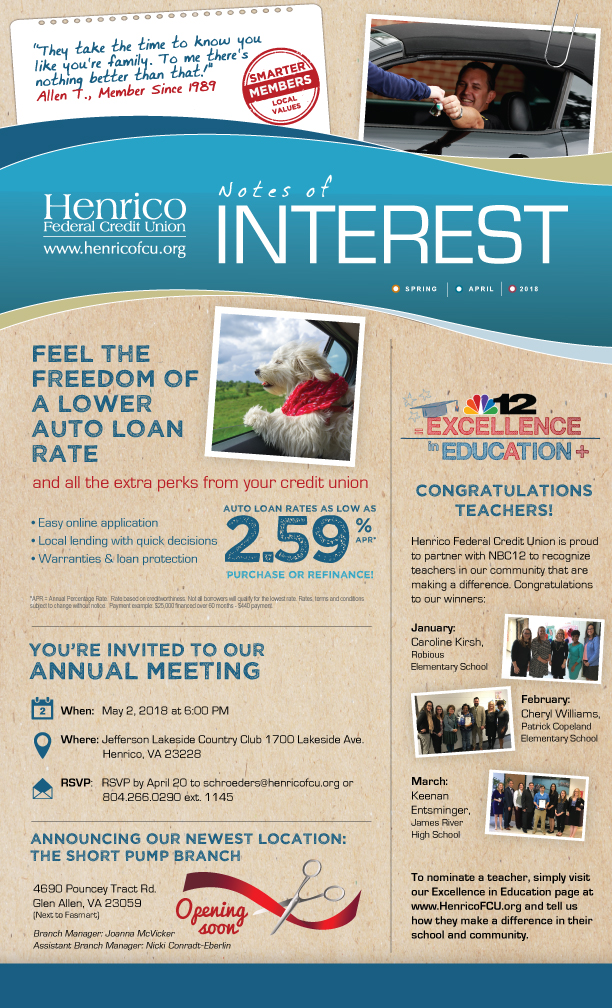 Henrico April Newsletter thumbnail