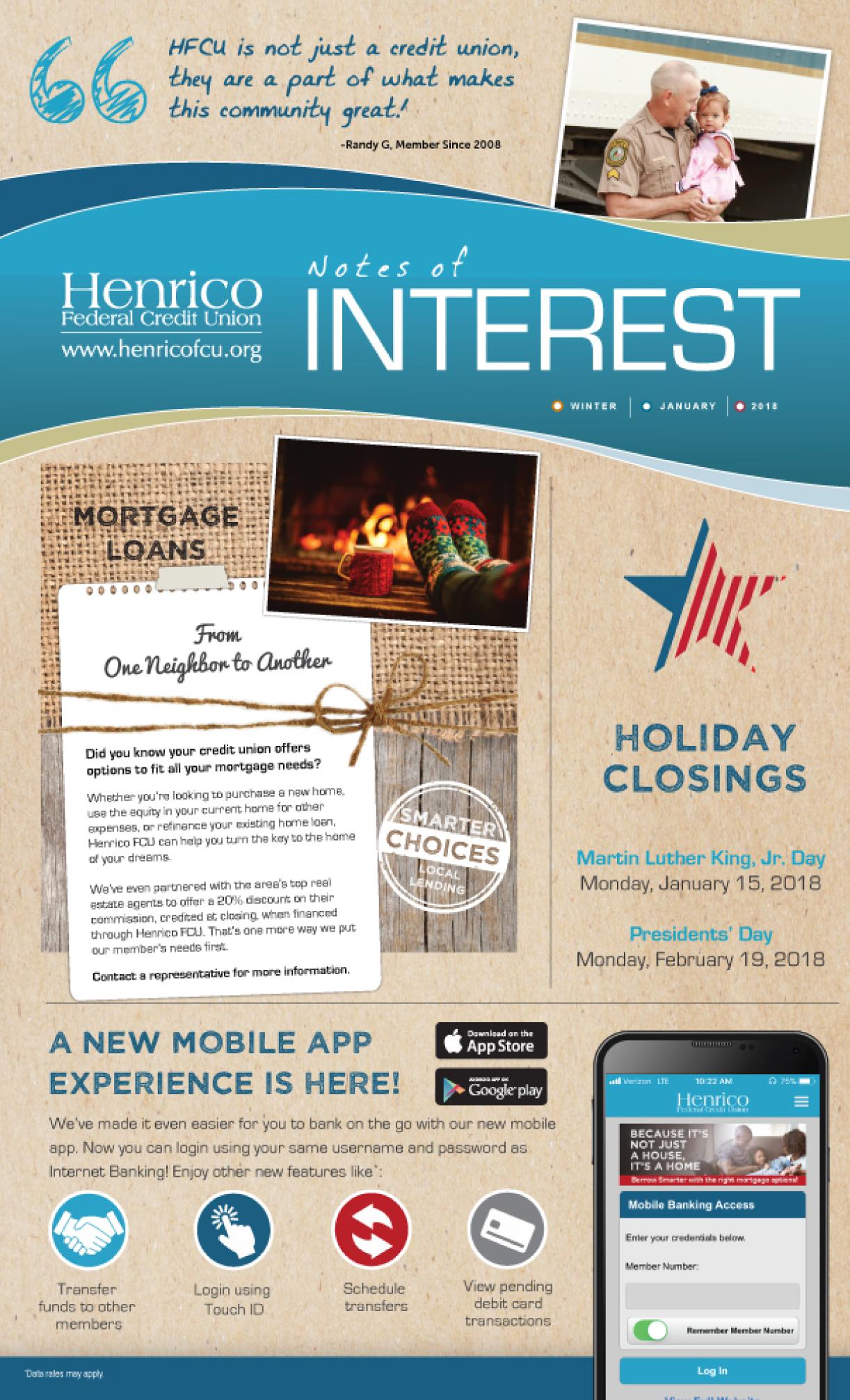 Henrico January Newsletter thumbnail